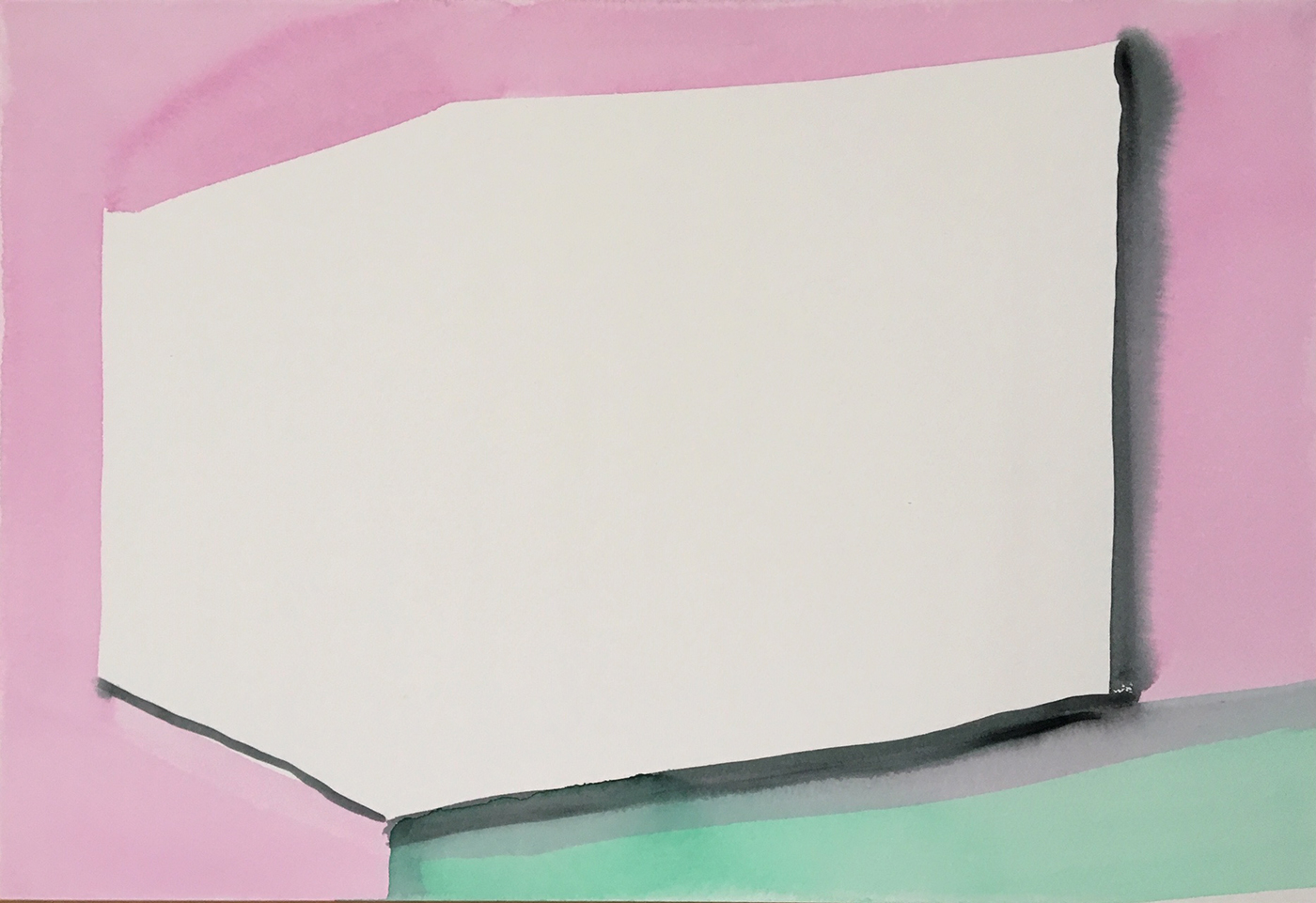 2018 aquarel 34x52 cm