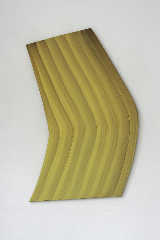 wandvorm 2017 olieverf op paneel 92 x 54cm