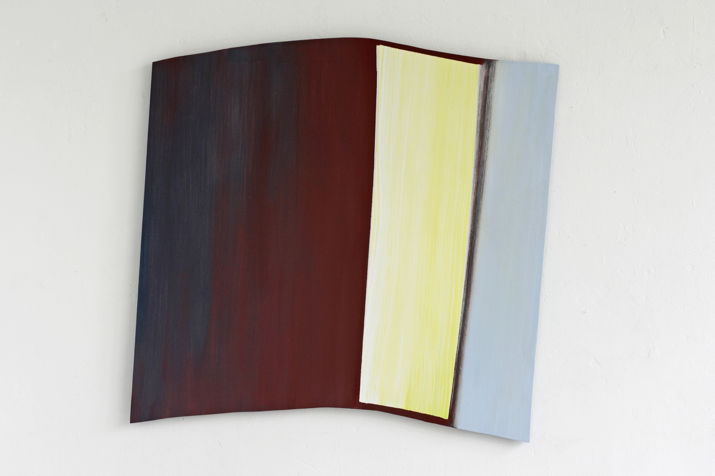 2020 oilpaint on panel 75 x 78 x 2 cm