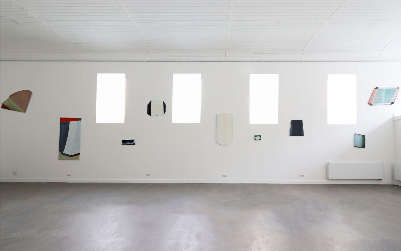 Westwand - Marena Seeling wallpanels and paintings