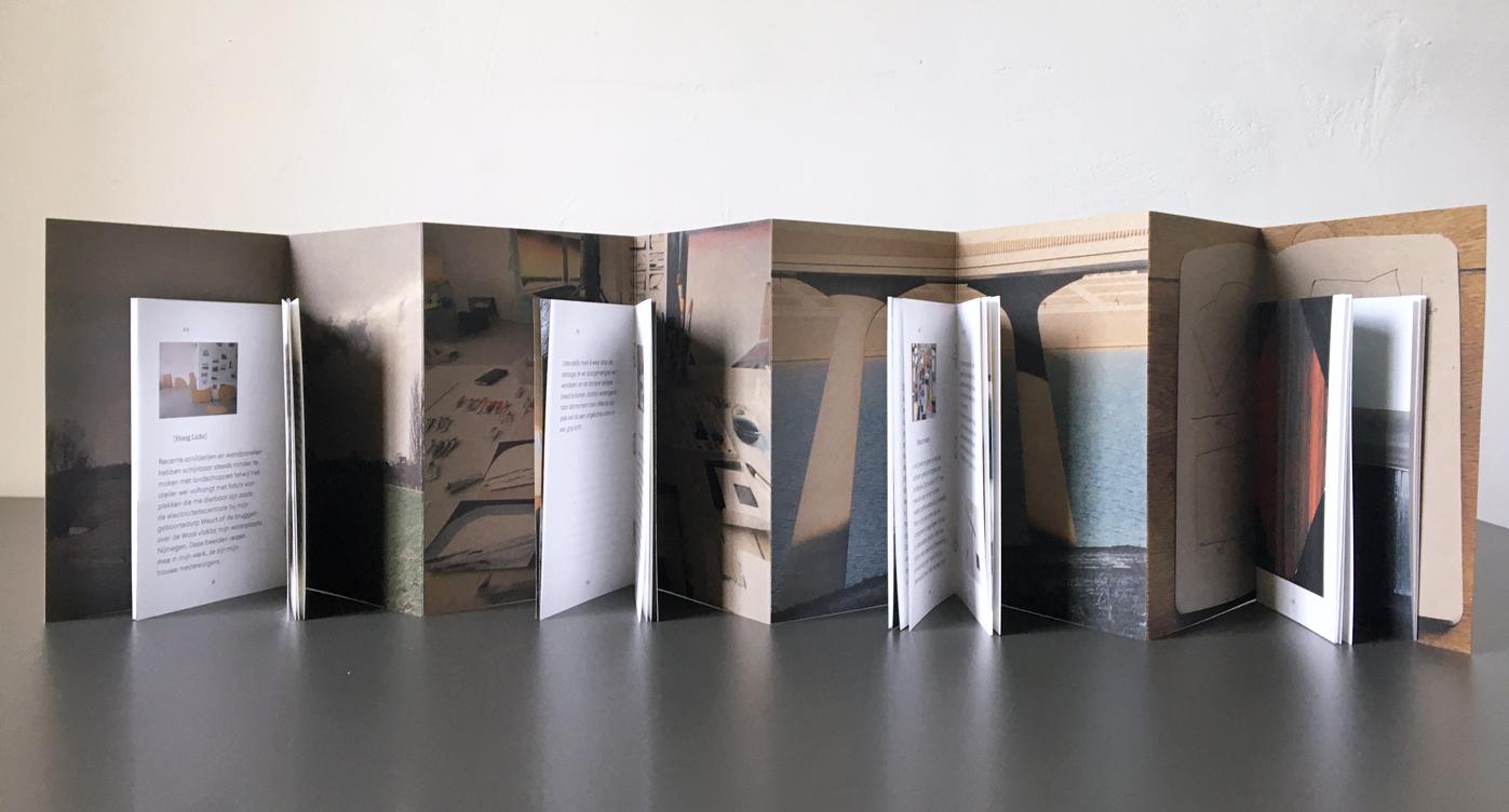publicatie Hoog Licht - leporello met 4 boekjes
