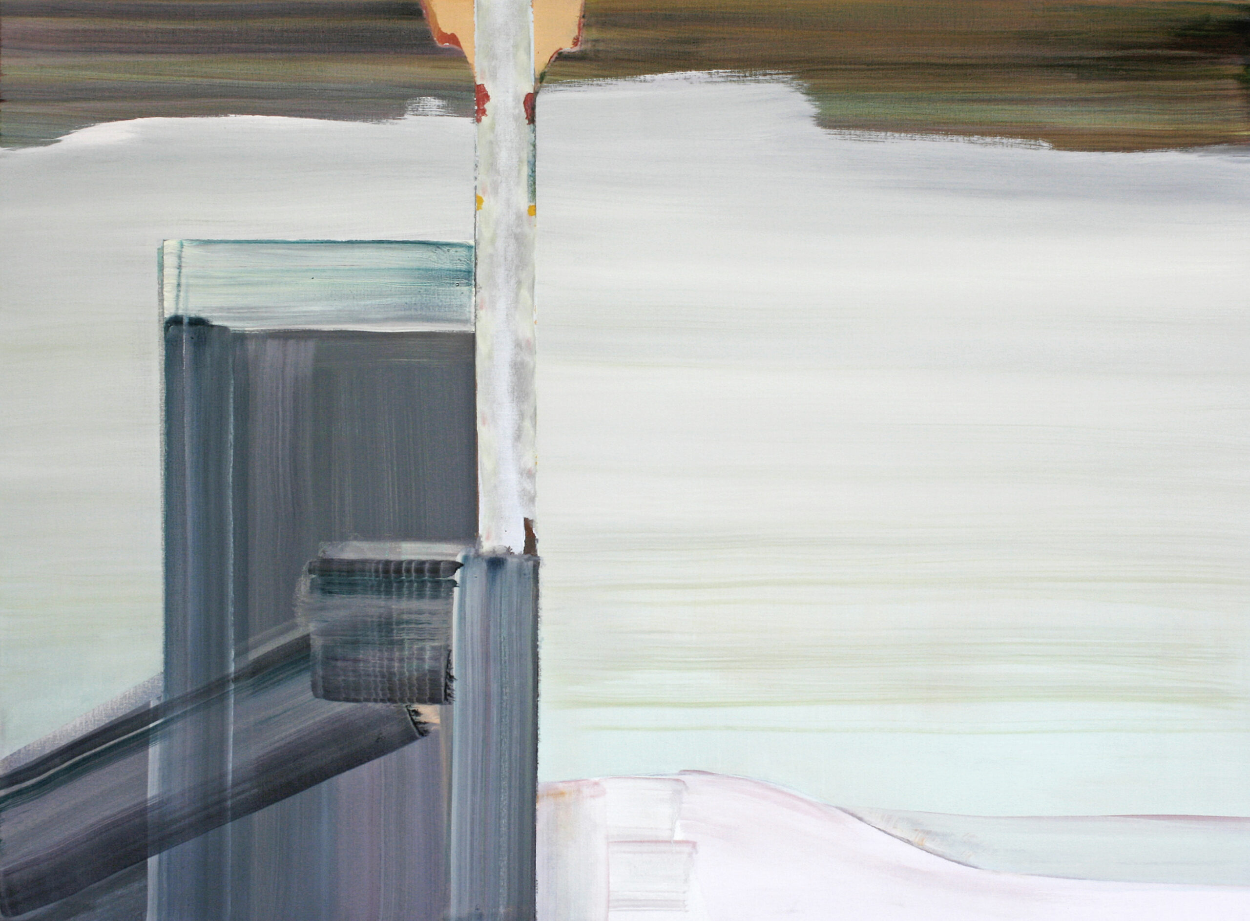 elektriciteitscentrale Weurt 2013 oilpaint on canvas 90x120cm